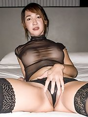 Black Sheer Bareback